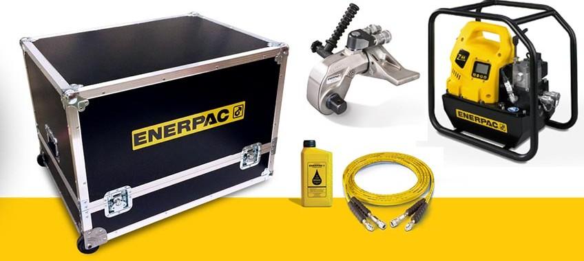 Скидка 10% на комплект Enerpac: гидравлический гайковёрт со станцией и шлангом