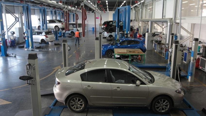 Обязательное оснащение станции технического обслуживания автомобилей