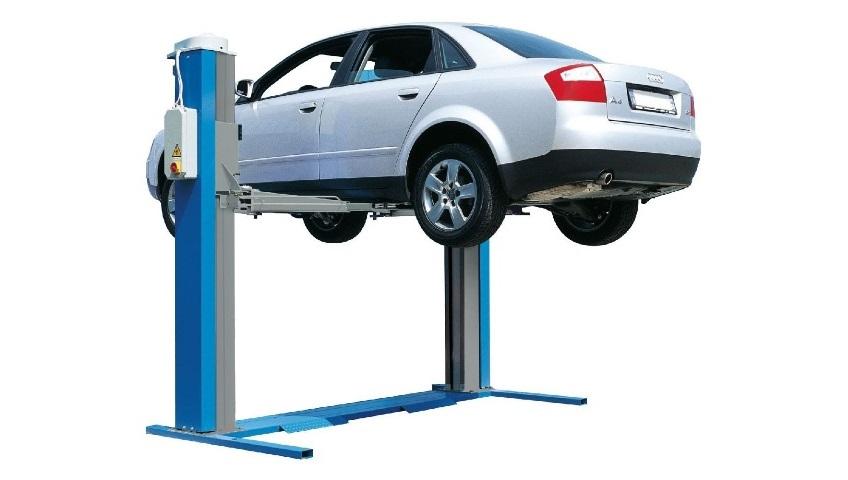 Типы автомобильных подъёмников