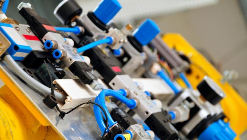 Промышленное использование пневматического оборудования