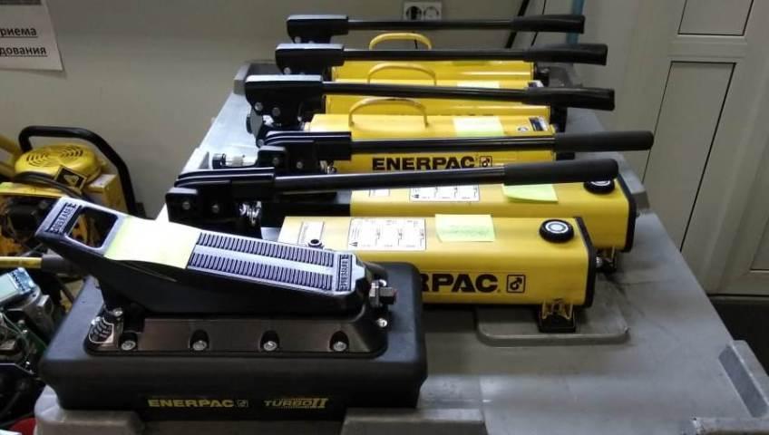 Аренда гидравлического оборудования Enerpac 6