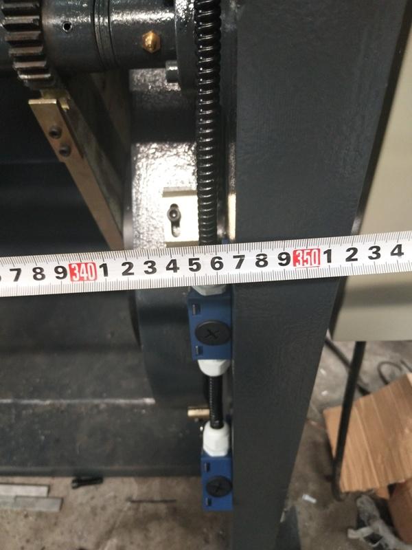 Проверка габаритных размеров