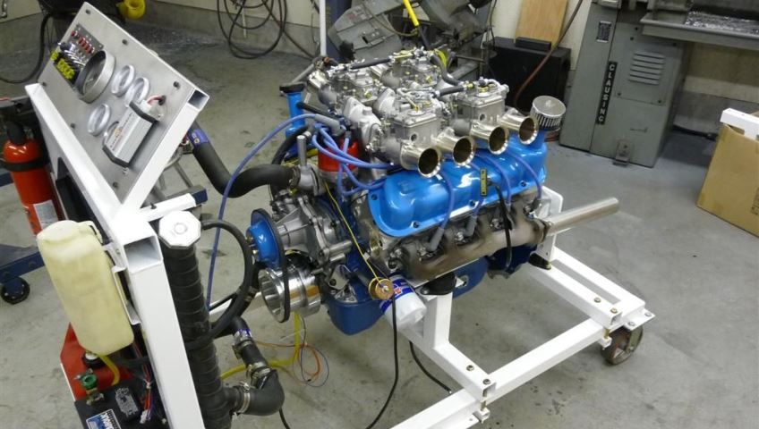 Конструкции стендов для демонтажа автомобильных двигателей