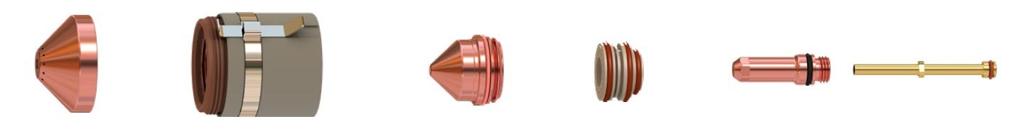 Расходные материалы для механизированного резака 2
