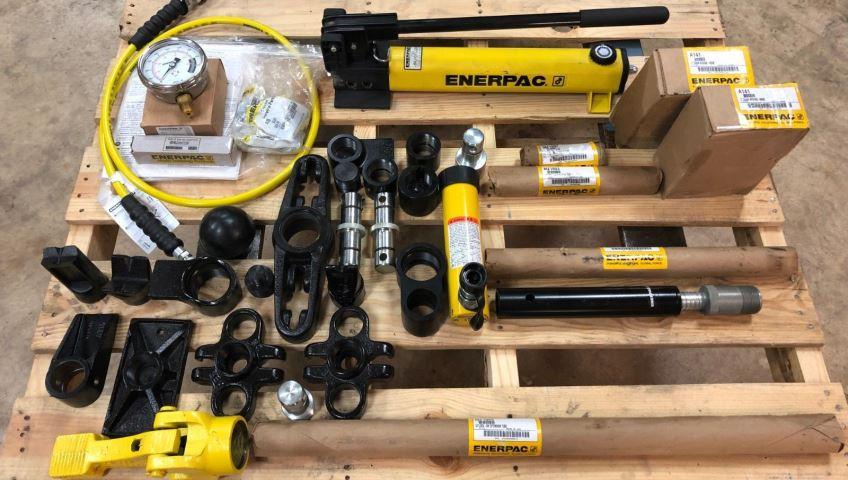 Плюсы арендного использования промышленной гидравлики Enerpac