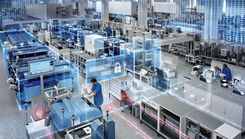 Трёхуровневое строение систем промышленной автоматики