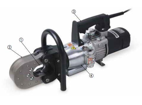 Электрические резаки для тросов и кабелей серии EWCE