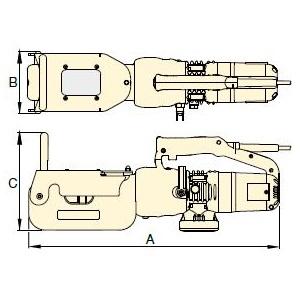 размеры резак для цепей ECC