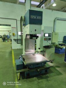Капитальный ремонт расточного станка EFCO SPM600