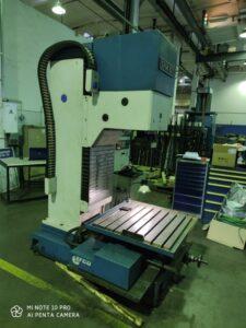 Капитальный ремонт расточного станка EFCO SPM600 2