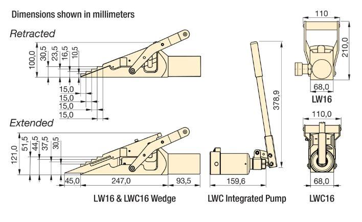 LWC габаритные размеры