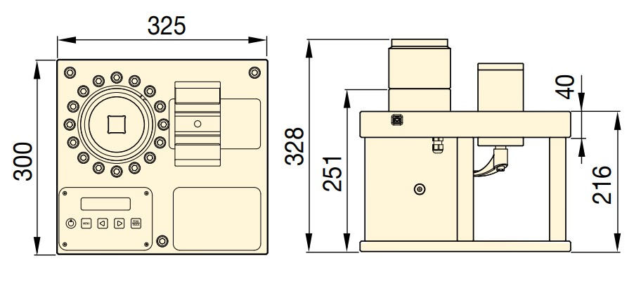 MCS7500S габариты