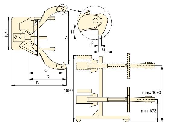 Съемник EPH размеры